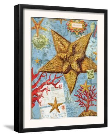 Vintage Botanical Starfish Print