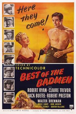 Best of the Badmen, from Left: Claire Trevor, Robert Ryan, 1951