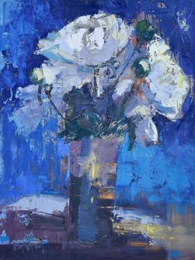 White Peonies by Beth A. Forst