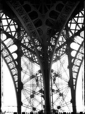 Leg of Eiffel Tower by Beth A^ Keiser
