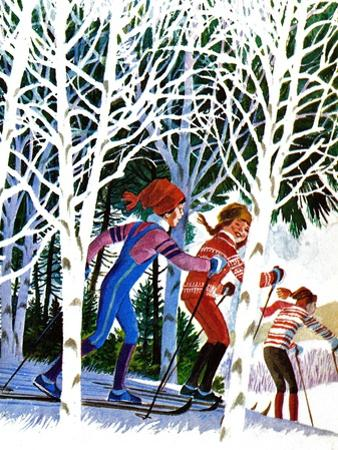 Cross-Country Skiing - Jack & Jill