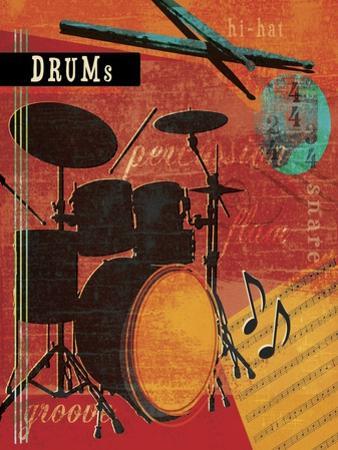 Music Notes IX by Beth Ann Creative