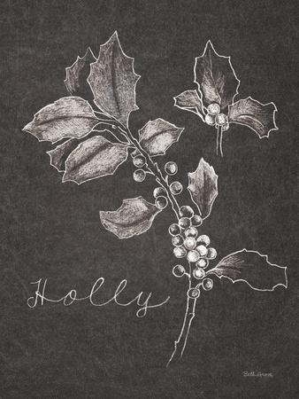 Black and White Chalkboard Christmas II
