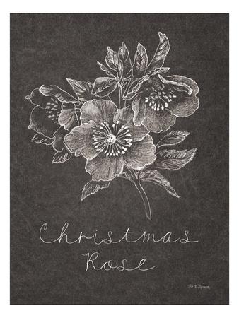 Black and White Chalkboard Christmas III