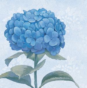 Blue Hydrangea III by Beth Grove