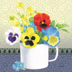 Blue Pansy IV by Beth Grove