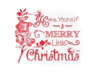 Chalkboard Christmas Sayings V on white