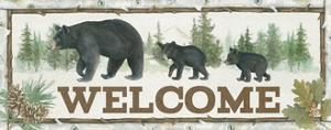 Family Cabin Welcome by Beth Grove
