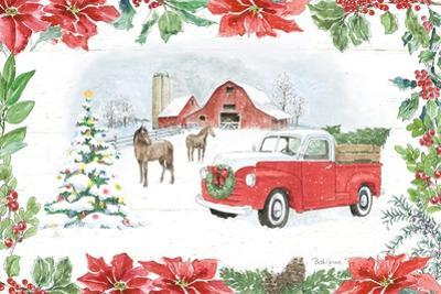 Farmhouse Holidays I by Beth Grove