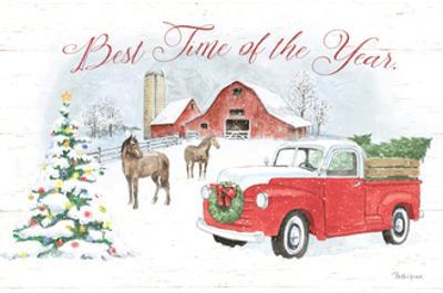 Farmhouse Holidays V by Beth Grove