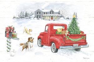 Farmhouse Holidays VI No Words by Beth Grove