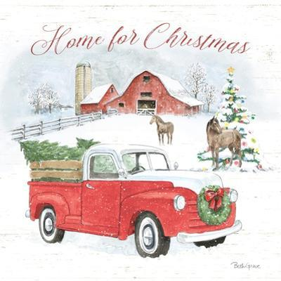 Farmhouse Holidays VII by Beth Grove