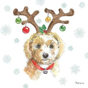 Holiday Paws VI by Beth Grove