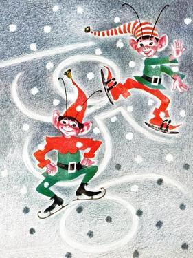 Elf Skates - Jack & Jill by Beth Henninger Krush