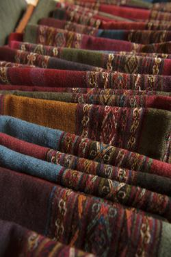 Cloth with Traditional Designs and Colors from Natural Dyes by Beth Wald