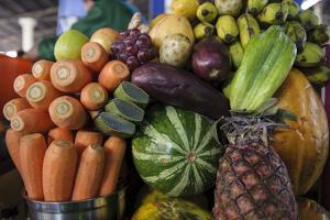 Fruits and Vegetables at the Central Market in Cusco by Beth Wald