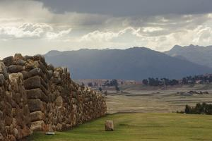 Incan Stone Walls, Part of a Temple and Palace Complex, Built 1480 by Beth Wald