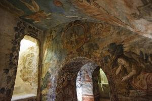 Spectacular Frescos Cover an Underground Chapel at the Convent of Santa Clara, Cusco by Beth Wald