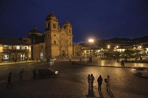 The Cathedral of Cusco, Built in 1550 on the Site of the Palace of the Inca Wirachocha by Beth Wald