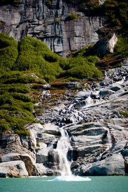 Alaska Waterfall I by Beth Wold