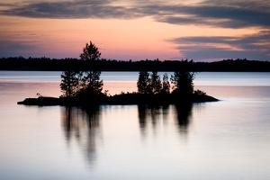 Twilight on the Lake II by Beth Wold