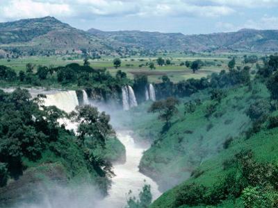 Blue Nile Falls, Near Bahar Dar, Bahar Dar, Ethiopia by Bethune Carmichael