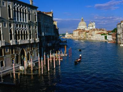 Buildings at Northern Mouth of Grand Canal, Venice, Italy by Bethune Carmichael
