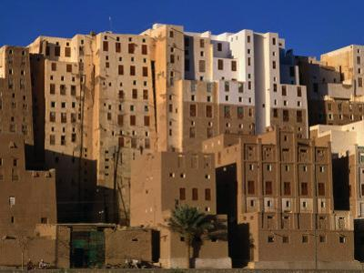 Exterior of Apartment Buildings, Yemen by Bethune Carmichael