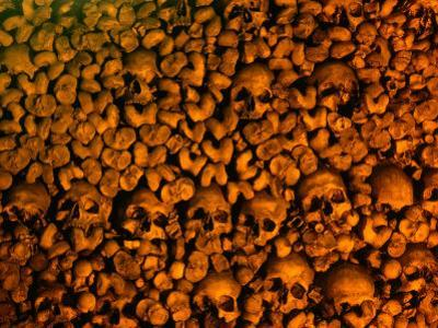 Human Skulls and Bones Collected by Franciscan Monks, Portugal by Bethune Carmichael