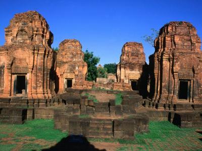 Khmer Ruins at Prasat Meuang Singh Historical Park (Lion City), Thailand by Bethune Carmichael