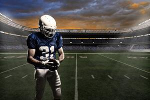 Football Player by Beto Chagas