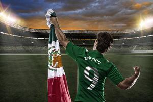 Mexican Soccer Player by Beto Chagas