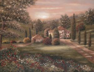 Evening in Tuscany II by Betsy Brown