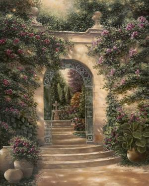 Watson's Garden I by Betsy Brown