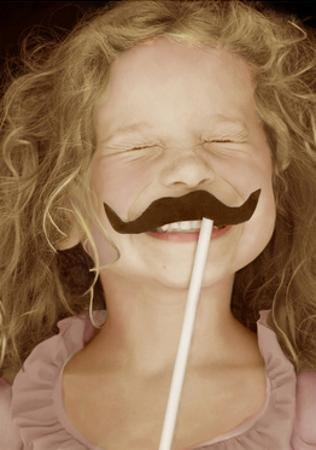 Moustache Girl by Betsy Cameron