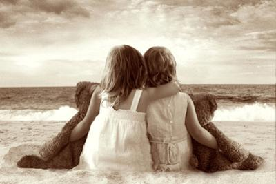 Two Girlfriends by Betsy Cameron