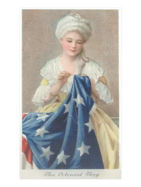 Betsy Ross Sewing Flag