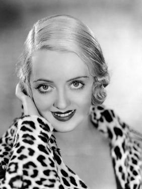 Bette Davis, Warner Bros. Portrait, 1932