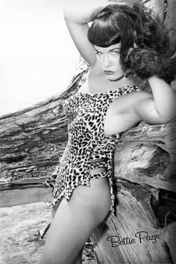 Bettie Page Jungle Bettie Pin-Up by Retro-A-Go-Go Poster