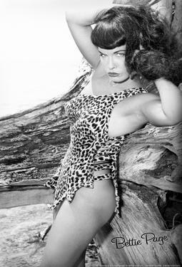 Bettie Page Jungle Bettie Pin-Up