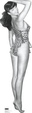 Bettie Page - Leopard Bikini Lifesize Standup