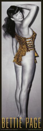 Bettie Page Leopard