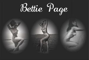 Bettie Page Triptych