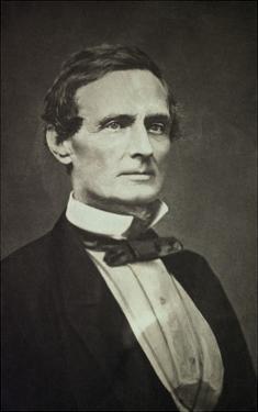 Confederate States President Jefferson Davis as Young Man by Bettmann