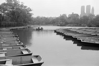 Empty Boats in Central Park