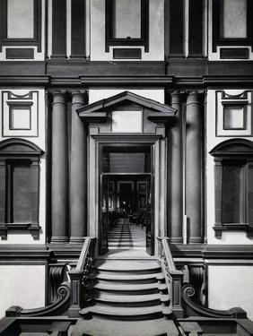 Entrance to the Medicean-Laurentian Library by Bettmann
