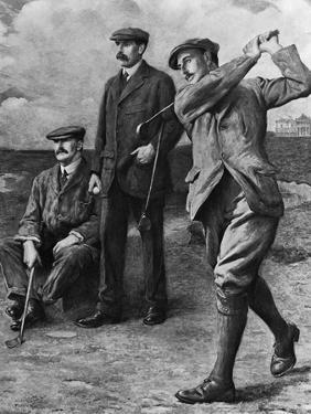 Golf Big Triumvirate by Bettmann