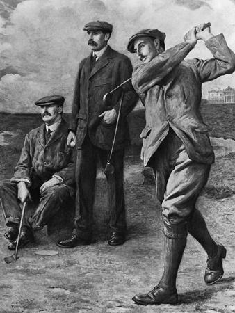 Golf Big Triumvirate