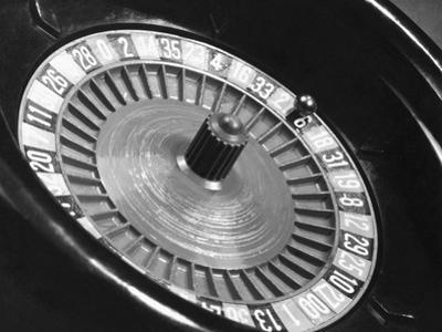 Roulette Wheel by Bettmann