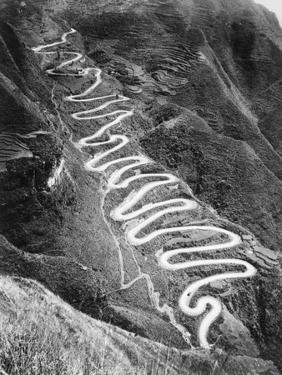 The Burma Road by Bettmann